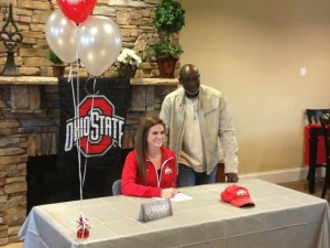 Mikaela Seibert is Buckeye Bound